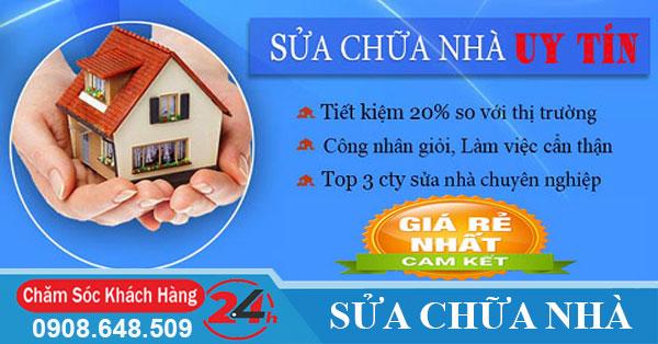 Sửa nhà trọn gói tại tphcm giá rẻ