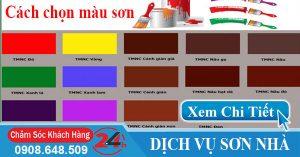 Cách chọn màu sơn nhà đẹp cho ngôi nhà của bạn