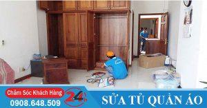 Thợ sửa tủ quần áo tại nhà
