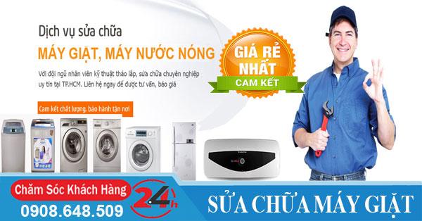Báo giá dịch vụ thợ sửa chữa máy giặt tại nhà giá rẻ