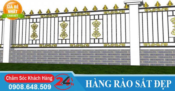 Báo giá thi công làm hàng rào sắt