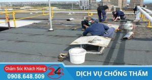 3 Phương pháp chống thấm sàn mái hiệu quả