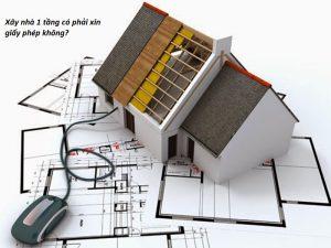 xây nhà tạm có phải xin giấy phép không