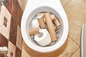 Bồn cầu bị nghẹt giấy, cách xử lý đơn giản và hiệu quả tại nhà