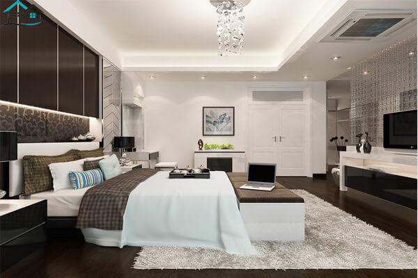 Mẫu phòng ngủ đẹp sang trọng tựa 5 sao