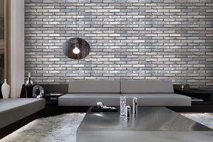 Trang trí phòng ngủ bằng xốp dán tường giả gạch