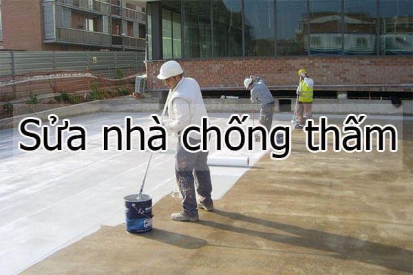 Sửa nhà chống thấm