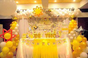 Background nền trang trí cho tiệc sinh nhật