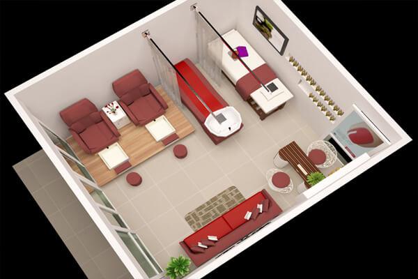 Thiết kế tiệm nail và spa đối với không gian có diện tích nhỏ