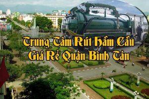 Rút hầm cầu quận Bình Tân